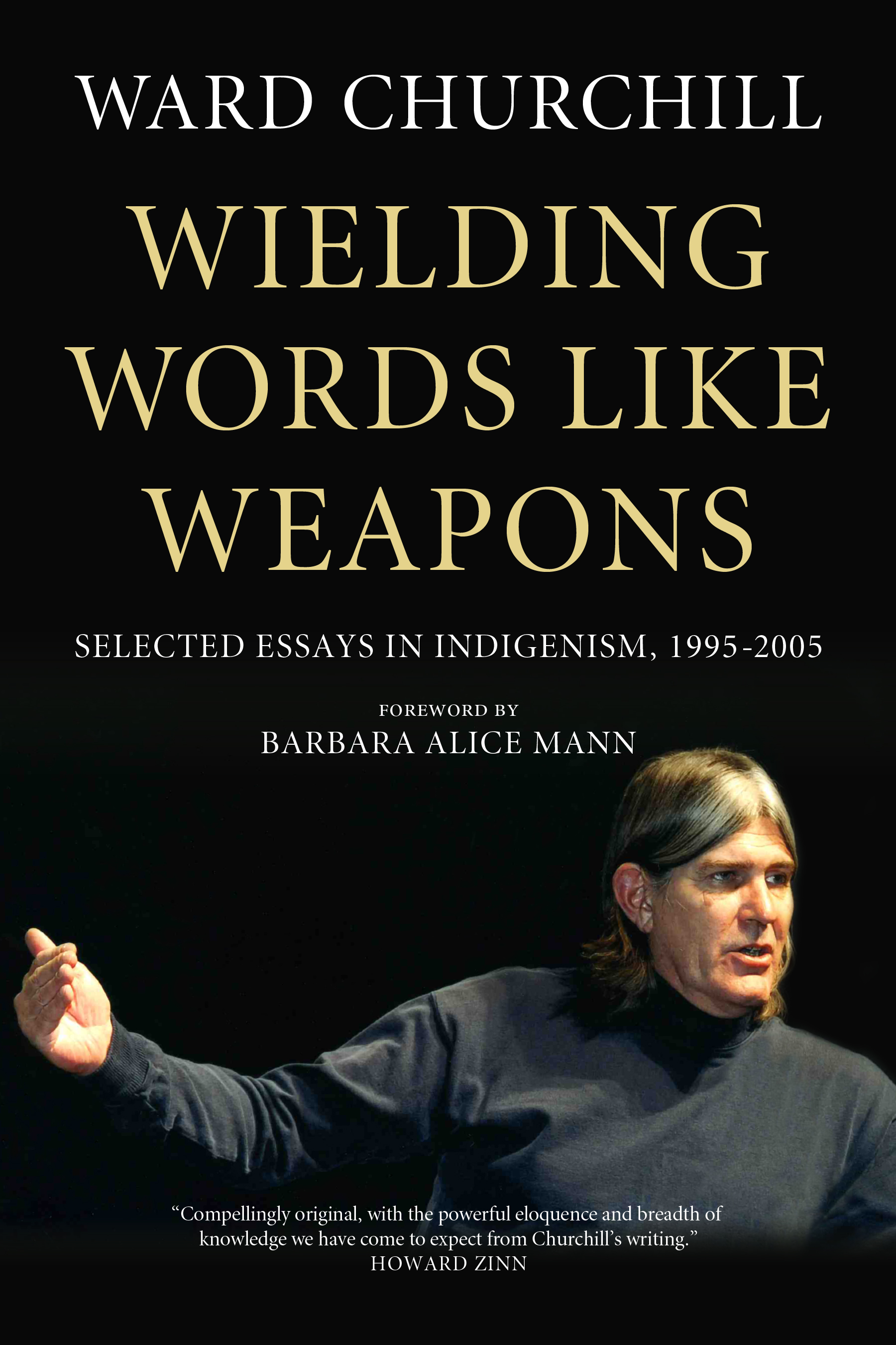 book cover wielding words like weapons